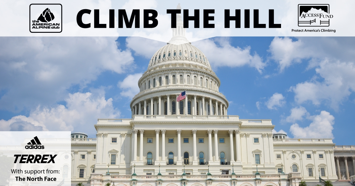 Climbers head to DC to protect public lands as part of Climb the Hill