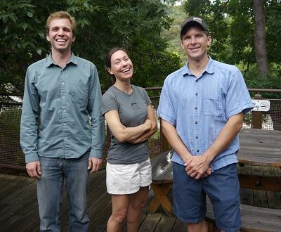 From left to right: Zachary, Jenny, RD.