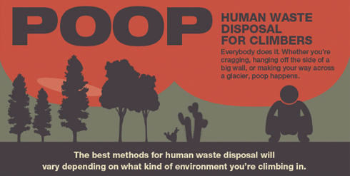 Poop: Waste Disposal Strategies for Climbers