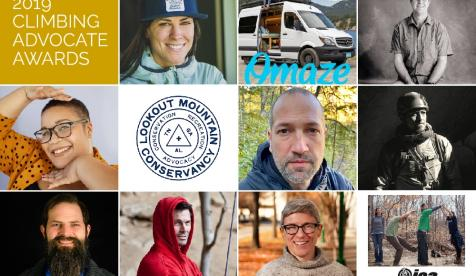 Access Fund Announces 2019 Climbing Advocate Awards