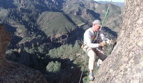 Friends of Pinnacles Anchor Replace