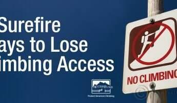 7-Surefire-Ways-to-Lose-Climbing-Access