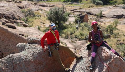 Texas Climbers Embrace Mentorship in Route Development