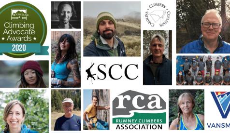 Access Fund Announces 2020 Climbing Advocate Awards