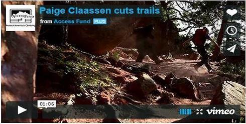 Paige Claassen Cuts Trails