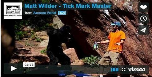 Matt Wilder Tick Mark Master